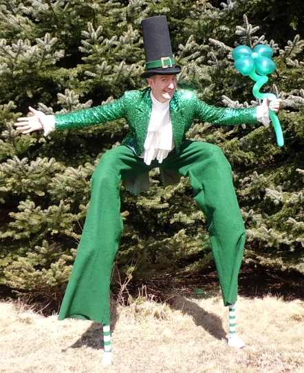Leprechaun Stiltwalker New York